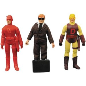 DAREDEVIL FIGURINE ARTICULÉE - MARVEL RETRO SET - LIMITED EDITION COLLECTOR - DIAMOND SELECT TOYS - 20 CM – (1) - 699788182550 – kingdom-figurine.fr