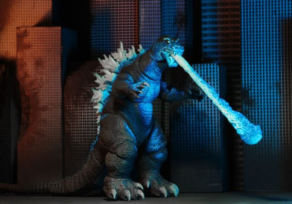 GODZILLA ATOMIC BLAST FIGURINE ARTICULÉE - HEAD TO TAIL - GODZILLA 2001 - NECA - 30 CM – (4) - 634482428832 – kingdom-figurine.fr