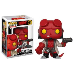 HELLBOY FIGURINE – HELLBOY – FUNKO – POP COMICS 01 – (0) - 889698227155 – kingdom-figurine.fr