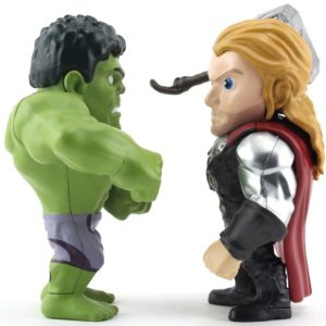 HULK & THOR FIGURINES - AVENGERS - AGE OF ULTRON - JADA - METALS DIE CAST M66 – (1Bis) - 801310978085 – kingdom-figurine.fr