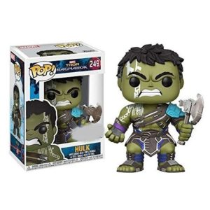 HULK WITHOUT GLADIATOR HELMET FIGURINE - MARVEL THOR RAGNAROK - EXCLUSIVE - FUNKO POP 249 – (2) - 889698137720 – kingdom-figurine.fr