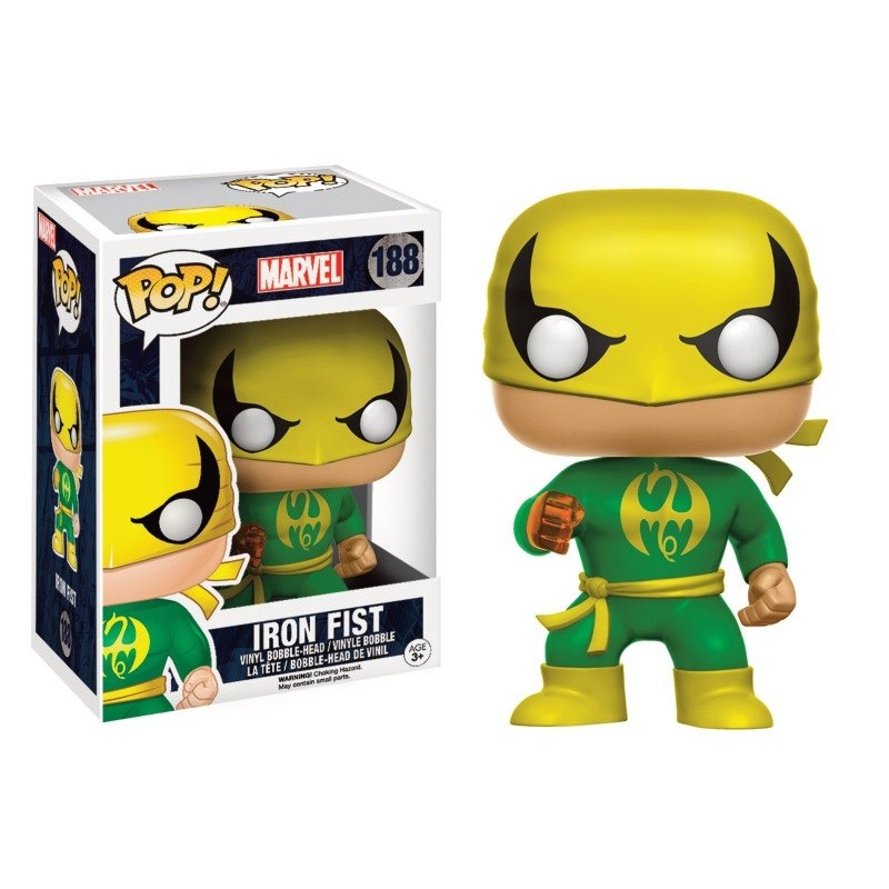 Une figurine Pop Exclusive d'Iron Fist