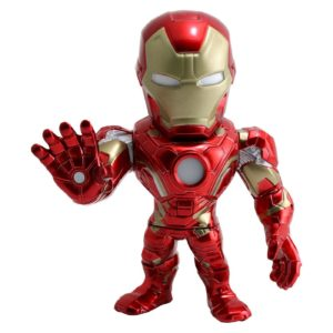 IRON MAN FIGURINE - MARVEL CIVIL WAR - JADA - METALS DIE CAST M55 – (1Bis) - 801310975640 – kingdom-figurine.fr