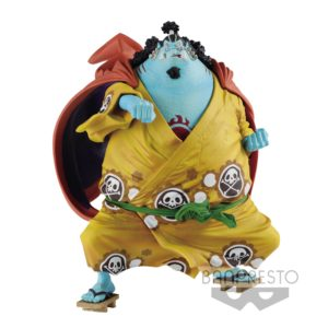 JINBE FIGURINE - ONE PIECE - KING OF ARTIST - BANPRESTO - 13 CM – 3296580806119 – kingdom-figurine.fr