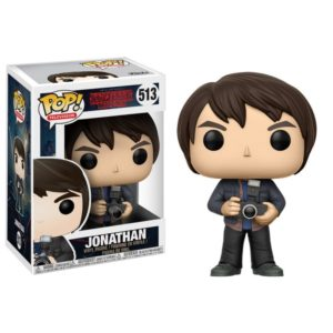 JONATHAN (WITH CAMERA) FIGURINE - STRANGER THINGS - FUNKO - POP TV 513 – 889698144261 – kingdom-figurine.fr
