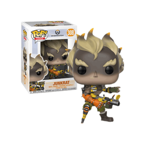 JUNKRAT FIGURINE - OVERWATCH - FUNKO - POP GAMES 308 – 889698290456 – kingdom-figurine.fr