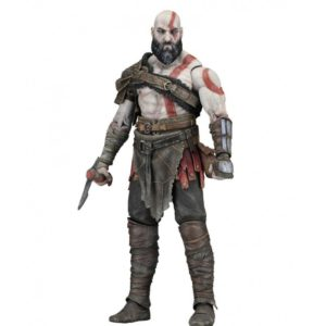 KRATOS FIGURINE ARTICULÉE – ÉCHELLE 1-4 - GOD OF WAR (2018) - NECA - 45 CM – (1) - 634482493243 – kingdom-figurine.fr