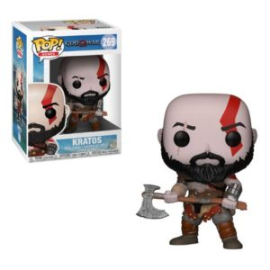KRATOS (WITH AXE) FIGURINE - GOD OF WAR - FUNKO - POP GAMES 269 – (1Bis) - 889698270311 – kingdom-figurine.fr