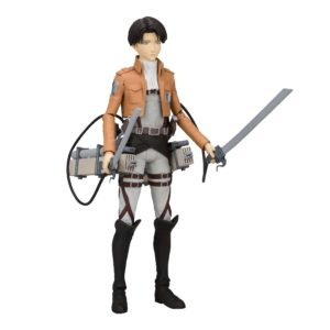LEVI ACKERMAN FIGURINE - ATTACK ON TITAN - Mc FARLANE TOYS - 18 CM – 787926120202 – kingdom-figurine.fr