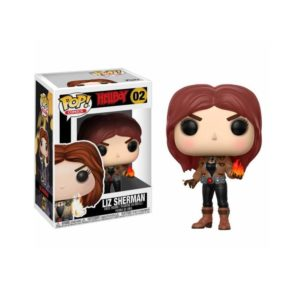 LIZ SHERMAN FIGURINE - HELLBOY - FUNKO - POP COMICS 02 – 889698227186 – kingdom-figurine.fr