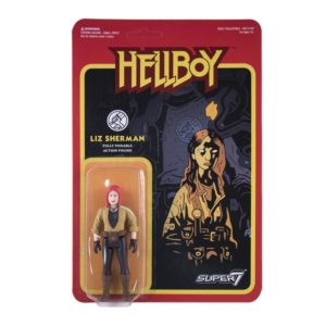 LIZ SHERMAN FIGURINE - HELLBOY - WAVE 1 - RE-ACTION - SUPER7 - 10 CM – 605930564693 – kingdom-figurine.fr