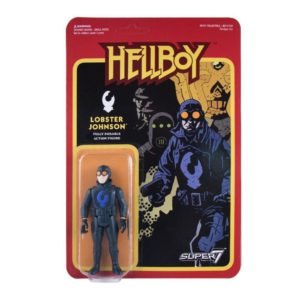 LOBSTER JOHNSON FIGURINE - HELLBOY - WAVE 1 - RE-ACTION - SUPER7 - 10 CM – 605930564709 – kingdom-figurine.fr