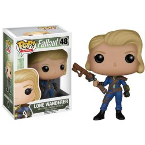 LONE WANDERER (FEMALE) FIGURINE - FALLOUT - FUNKO - POP GAMES 48 – 849803058494 – kingdom-figurine.fr