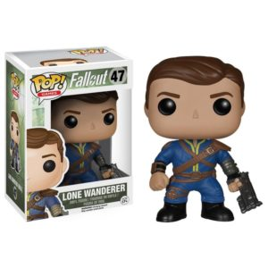 LONE WANDERER (MALE) FIGURINE - FALLOUT - FUNKO - POP GAMES 47 – 849803058487 – kingdom-figurine.fr