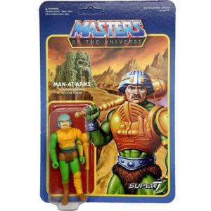 MAN AT ARMS FIGURINE ARTICULÉE - MOTU - WAVE 2 - RE-ACTION - SUPER7 - 10 CM – kingdom-figurine.fr