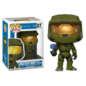 MASTER CHIEF FIGURINE - HALO - FUNKO - POP HALO 07 – (1Bis) - 889698300995 – kingdom-figurine.fr
