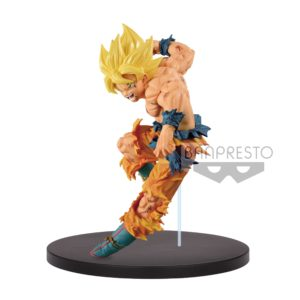MATCH MAKERS SUPER SAYAN SON GOKU FIGURINE - DBZ - BANPRESTO - 16 CM – 3296580810222 – kingdom-figurine.fr
