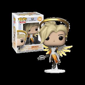 MERCY FIGURINE - OVERWATCH - FUNKO - POP GAMES 304 – 889698290470 – kingdom-figurine.fr