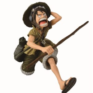 MONKEY D. LUFFY FIGURINE - ONE PIECE - SPECIAL COLOR VERSION - Scultures - BANPRESTO - 16 CM – 3296580261888 – kingdom-figurine.fr