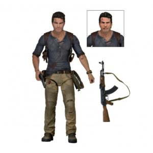 NATHAN DRAKE FIGURINE - ULTIMATE - UNCHARTED 4 - NECA - 18 CM – (1) - 634482449462 – kingdom-figurine.fr