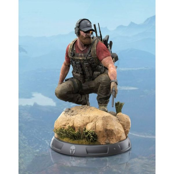 NOMAD STATUETTE - GHOST RECON WIDLANDS - COLLECTOR'S EDITION - TRIFORCE - 37 CM - (1) - 859222006235 – kingdom-figurine.fr