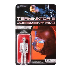 OFFICER WITH HOLE IN THE HEAD FIGURINE ARTICULÉE - EXCLU - TERMINATOR 2 (JUDGMENT DAY) - RE-ACTION -SUPER7 - 10 CM – 605930564662 – kingdom-figurine.fr