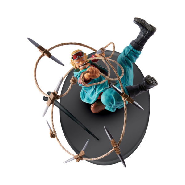 PAULY FIGURINE - ONE PIECE - BIG ZOUKEIO 4 VOL.08 - Scultures – BANPRESTO - 14 CM – 3296580335589 – kingdom-figurine.fr
