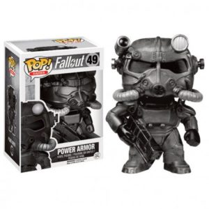 POWER ARMOR (BLACK) FIGURINE - FALLOUT - EXCLUSIVE - FUNKO - POP GAMES 49 – (1Bis) - 849803074753 – kingdom-figurine.fr