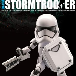 RIOT CONTROL STORMTROOPER FIGURINE ARTICULÉE - STAR WARS EPISODE VII - EGG ATTACK - BEAST KINGDOM TOYS - 15 CM – (0) - 4713057503757 – kingdom-figurine.fr
