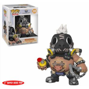 ROADHOG FIGURINE - OVERWATCH - FUNKO - SUPER SIZED - POP GAMES 309 – (1) - 889698290463 – kingdom-figurine.fr