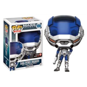 SARA RYDER (MASQUED) FIGURINE - MASS EFFECT ANDROMEDA - FUNKO EXCLU - POP GAMES 186 – 889698132695 – kingdom-figurine.fr
