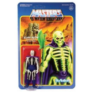 SCARE GLOW FIGURINE ARTICULÉE - MOTU - WAVE 4 - RE-ACTION - SUPER7 - 10 CM – 811169030537 – kingdom-figurine.fr