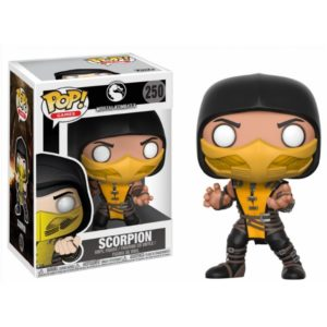 SCORPION FIGURINE - MORTAL KOMBAT X - FUNKO - POP GAMES 250 – 889698216852 – kingdom-figurine.fr