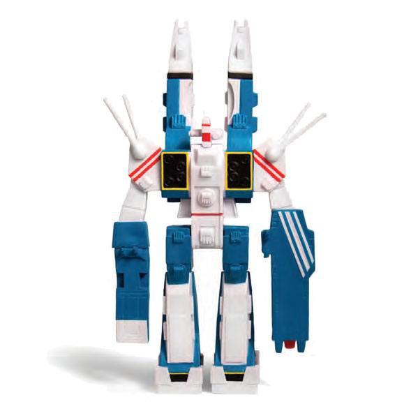 SDF-1 FIGURINE - ROBOTECH - RE-ACTION - SUPER7 - 10 CM – (1) - 811169030124 – kingdom-figurine.fr