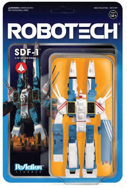 SDF-1 FIGURINE - ROBOTECH - RE-ACTION - SUPER7 - 10 CM – (2) - 811169030124 – kingdom-figurine.fr