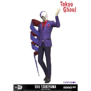 SHU TSUKIYAMA FIGURINE ARTICULÉE - TOKYO GHOUL - COLOR TOPS - Mc FARLANE TOYS - 18 CM – (1Bis) - 787926120110 – kingdom-figurine.fr