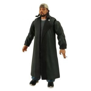SILENT BOB FIGURINE ARTICULÉE - JAY ET BOB CONTRE-ATTAQUENT - DIAMOND SELECT TOYS - 18 CM – 699788102190 – kingdom-figurine.fr