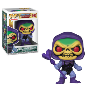 SKELETOR (BATTLE ARMOR) FIGURINE VINYLE - MOTU - FUNKO POP TELEVISION 563 – (2) - 889698218061 – kingdom-figurine.fr