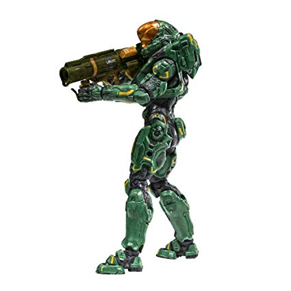 SPARTAN HERMES FIGURINE - HALO 5 GUARDIANS - SERIES 2 - Mc FARLANE TOYS - 15 CM – (1) - 787926194128 – kingdom-figurine.com