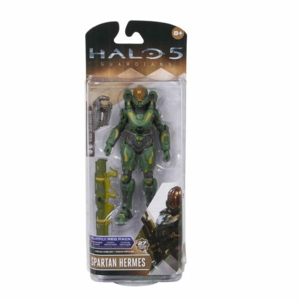 SPARTAN HERMES FIGURINE - HALO 5 GUARDIANS - SERIES 2 - Mc FARLANE TOYS - 15 CM – (3) - 787926194128 – kingdom-figurine.com