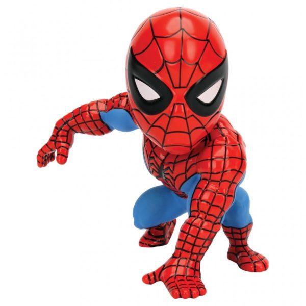 SPIDER-MAN ULTIMATE FIGURINE - MARVEL - JADA - METALS DIE CAST M256 – (1) - 801310979846 – kingdom-figurine.fr