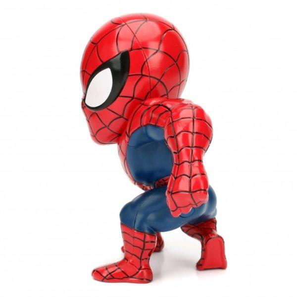 SPIDER-MAN ULTIMATE FIGURINE - MARVEL - JADA - METALS DIE CAST M256 – (3) - 801310979846 – kingdom-figurine.fr