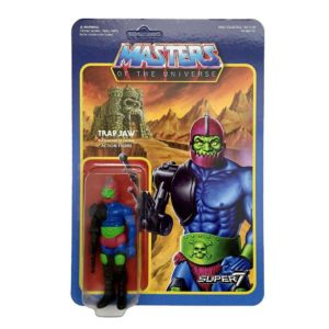 TRAP JAW FIGURINE ARTICULÉE - MOTU - WAVE 2 - RE-ACTION - SUPER7 - 10 CM – 605930564327 – kingdom-figurine.