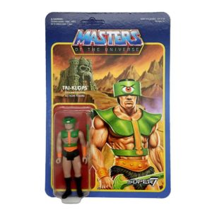 TRI-KLOPS FIGURINE ARTICULÉE - MOTU - WAVE 2 - RE-ACTION - SUPER7 - 10 CM – 605930564334 – kingdom-figurine.fr