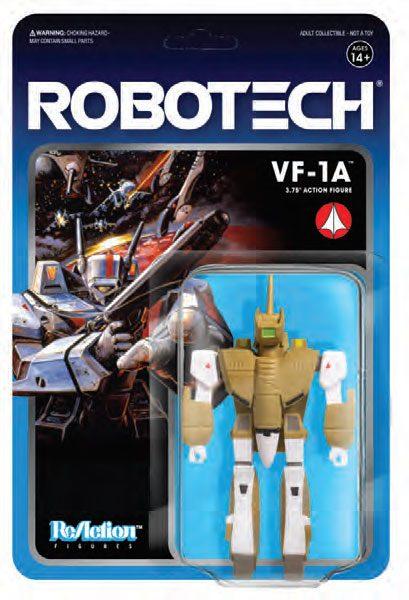 VF-1A FIGURINE - ROBOTECH - RE-ACTION - SUPER7 - 10 CM – (2) - 811169030087 – kingdom-figurine.fr