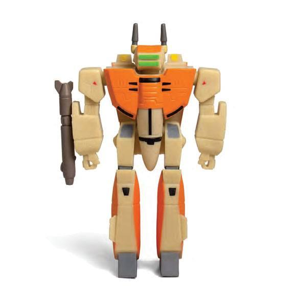 VF-1D FIGURINE - ROBOTECH - RE-ACTION - SUPER7 - 10 CM – (1) - 811169030094 – kingdom-figurine.fr