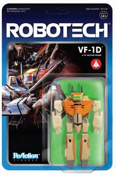 VF-1D FIGURINE - ROBOTECH - RE-ACTION - SUPER7 - 10 CM – (2) - 811169030094 – kingdom-figurine.fr
