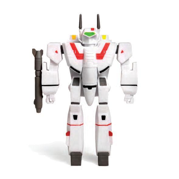 VF-1J FIGURINE ROBOTECH - RE-ACTION - SUPER7 - 10 CM – (1) - 811169030100 – kingdom-figurine.fr