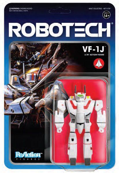 VF-1J FIGURINE ROBOTECH - RE-ACTION - SUPER7 - 10 CM – (2) - 811169030100 – kingdom-figurine.fr