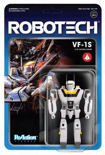 VF-1S FIGURINE - ROBOTECH - RE-ACTION - SUPER7 - 10 CM – (2) - 811169030117 – kingdom-figurine.fr